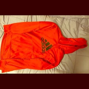 Adidas climawarm pullover red XL